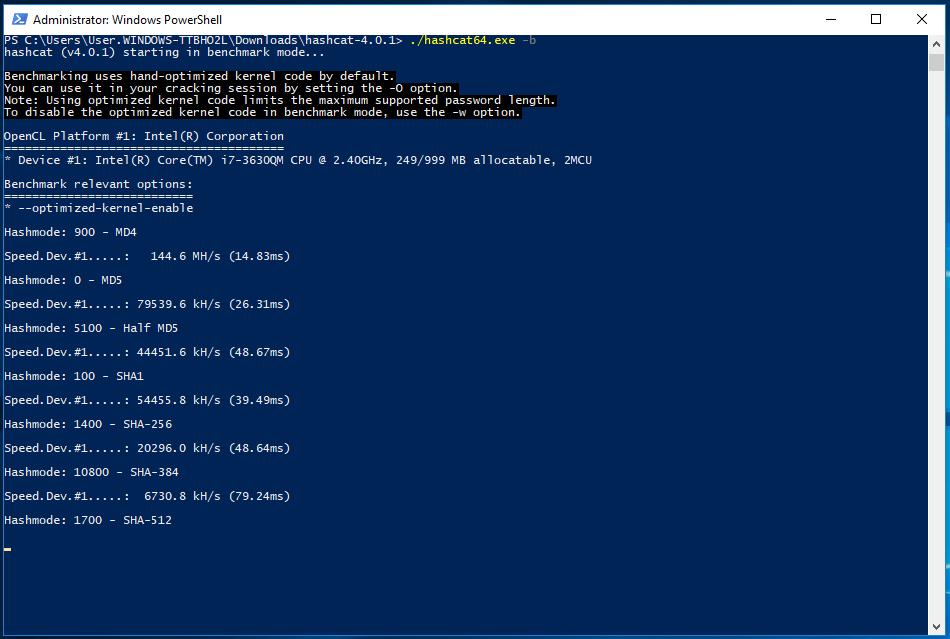 Как установить oclHashcat в Kali Linux 2 - HackWare ru