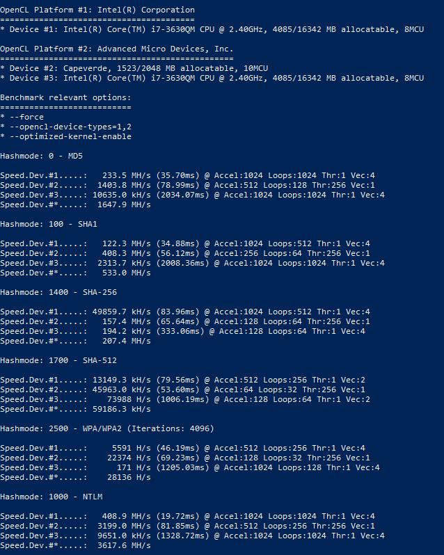 Инструкция по hashcat: запуск и использование программы для