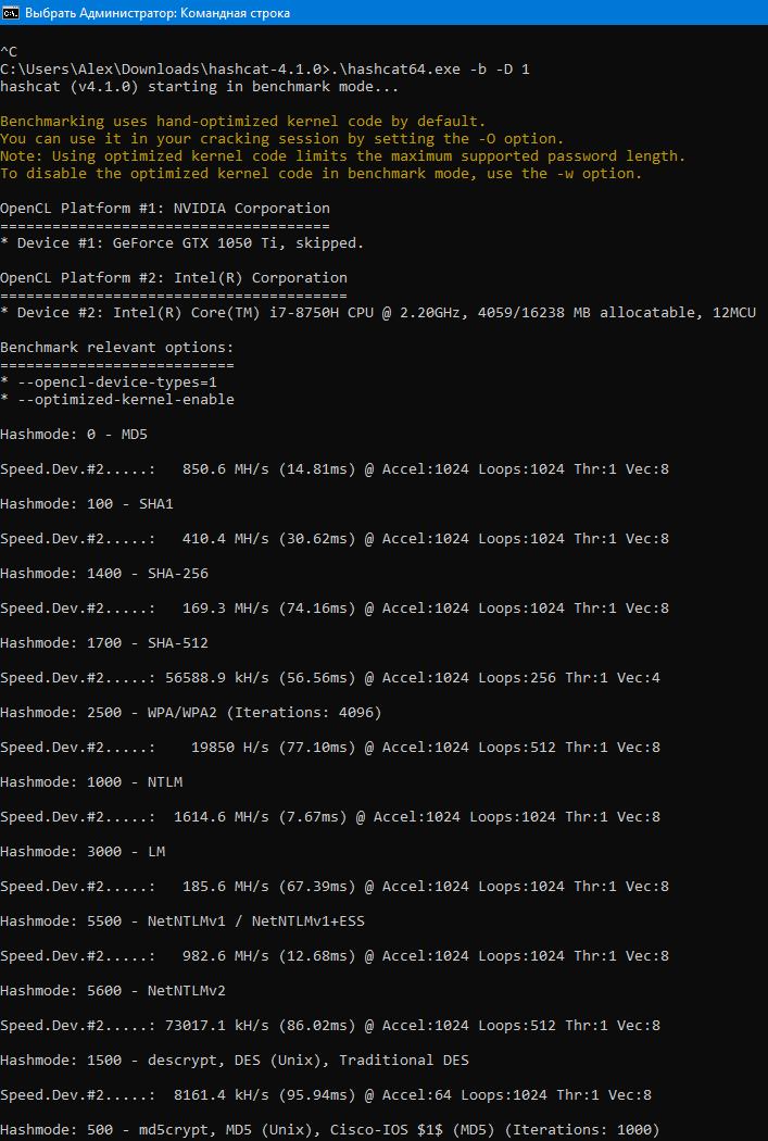 Андервольтинг в Windows и Linux центрального процессора (CPU