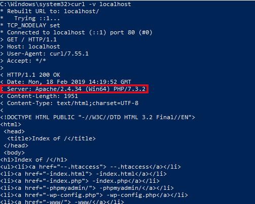 Как защитить веб-сервер Apache от взлома в Windows apache windows