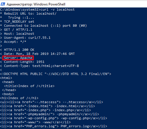 Как защитить веб-сервер Apache от взлома в Windows apache windows2